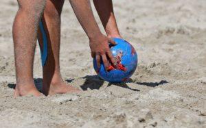 رياضة برية علي شاطئ جزيرة نايفارو المالديف