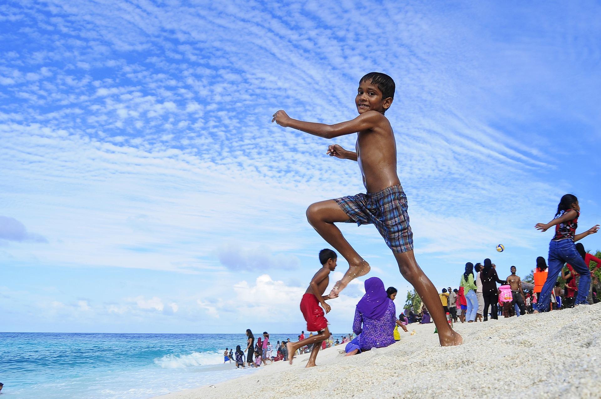 المالديف للاطفال