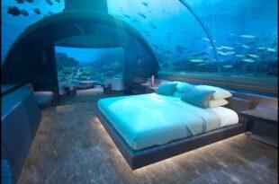 فنادق المالديف تحت الماء